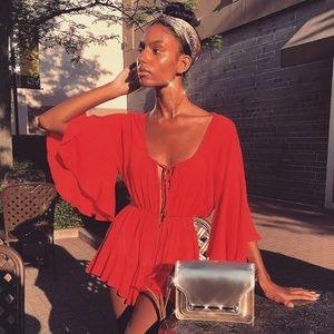 23905a4117 Meshki Dresses - Meshki Skyla Playsuit NWT